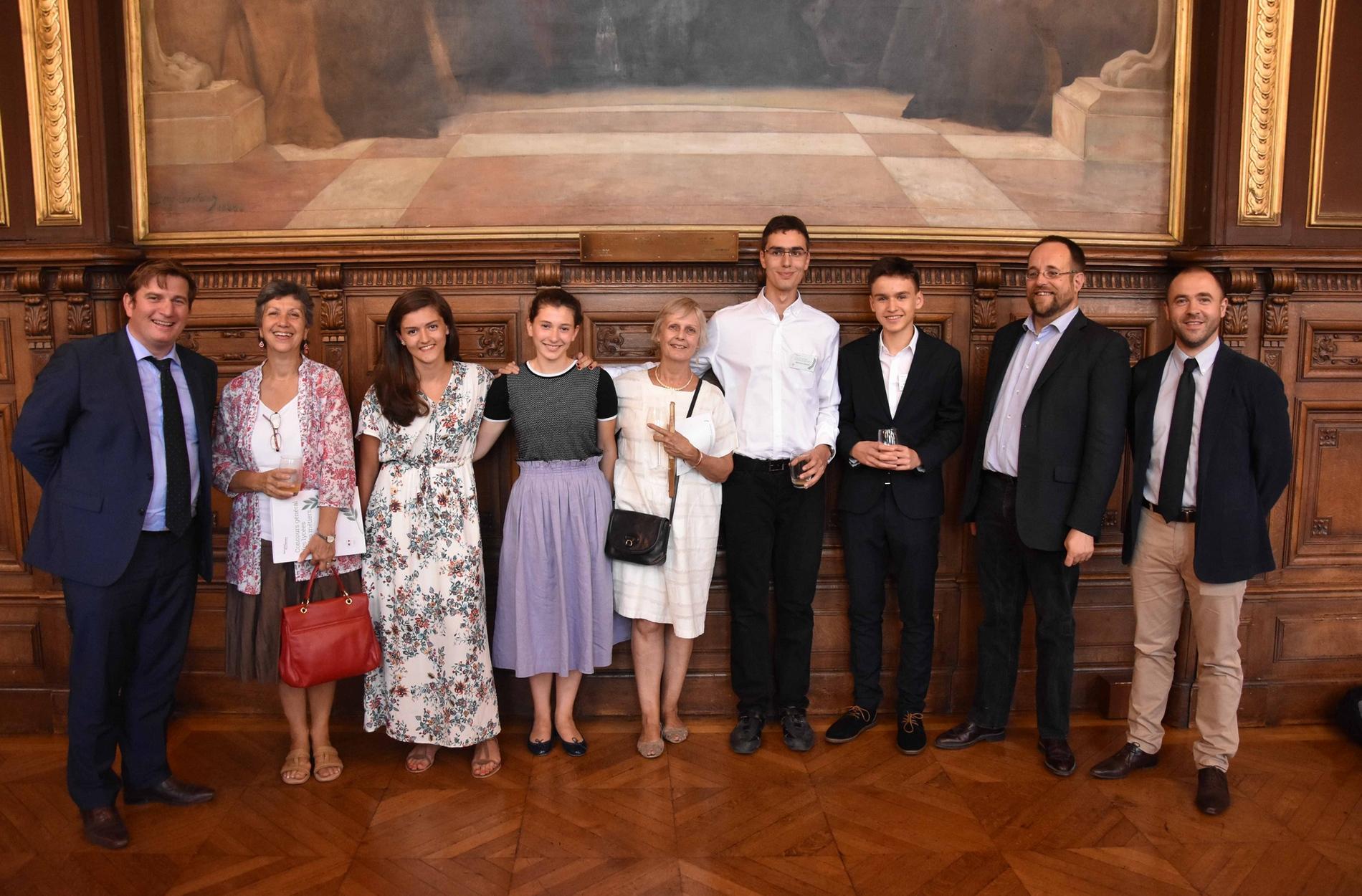 Lauréats du Concours Général 2018 Stanislas